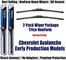 2pk Super-Premium NeoForm Wipers fit 2008 Chevrolet Avalanche - 162213x2