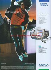 Nokia 3300 Mobile Music Player 2003 Magazine Advert #2373