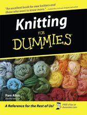 Knitting for Dummies (Thorndike Health, Home & Lea