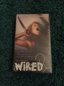 Wired (Hanger) VHS Plotdigger King Of The Witches Ryan Nicholson Horror Gore NEW