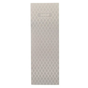 """8"""" Diamond Combination Sharpening Stone 300/1000 Grit Double-Sided Bench Stone"""