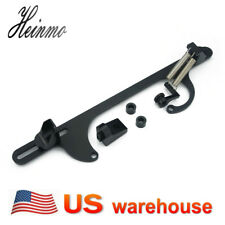 Car Aluminium Throttle Cable Carb Bracket Carburetor for Holley 4150 4160 Black