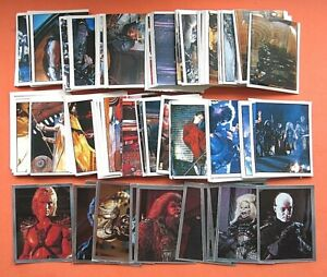 VERY SCARCE - PANINI -MASTERS OF THE UNIVERSE- COMPLETE SET OF ORIGINAL STICKERS
