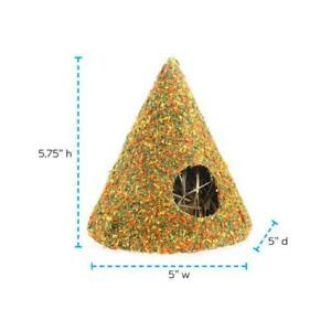 Health-E Cone, Timothy Hay, Digestion & Teeth Care, Small Pets