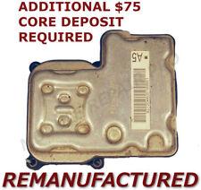 REMAN 02 03 04 05 GMC Envoy ABS Pump Control Module EBCM NO TRACTION >EXCHANGE<