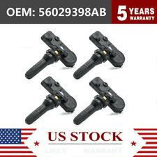 4x Genuine Tire Pressure Oem 56029398ab Tpms Sensor For Chrysler Dodge Ram