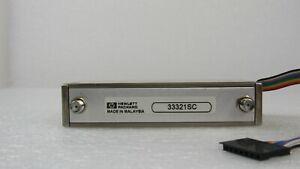 AGILENT / HP 33321SC Programmable Step Attenuator DC - 4GHz, 0-70dB, 10 dB Steps