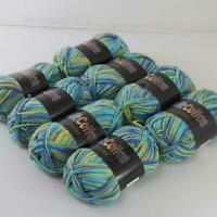 AIP Soft Baby Cotton Yarn New Hand dyed Wool Socks Scarf Knitting 8balls x50g 17