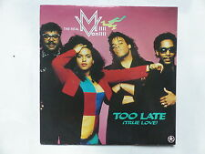 the real MILLI VANILLI Too late 9031 74552 7 FRANCE