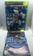 All-Star Baseball 2005 - ASB 05 - Complete - Tested & Works -Original Xbox