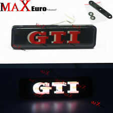 LED Light GTI Grille Emblem Badge For Volkswagen VW Golf 5 6 Mark5 MK 2 3 4 MKV