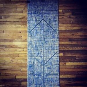 Eco Conscious Yoga Mat Focused Lyfe Lapis Blue