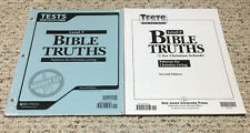 BJU Bob Jones 12th grade BIBLE TRUTHS Patterns for Christian Living Level F 2nd