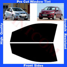 Pre Cut Window Tint Mazda 2 Hatchback 3 Doors 2008- 2012 Front Sides Any Shade
