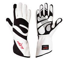 LRP Kart Racing Gloves- Freedom Gloves Black/White