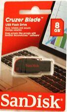 Original Sandisk Cruzer Blade 8 Gb Memory Stick Usb Dispositivo De Almacenamiento Flash
