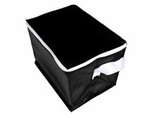 6 Can Insulated Cool Bag Cooler for Lunch Picnics Trips and Holidays Black