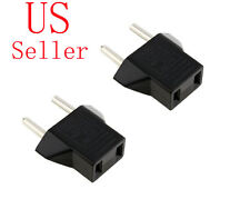 Travel USA to Europe Power Plug Adapter Adaptor Convert Eu To Us Charger Outlet