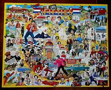 White Mountain Puzzle The Fifties Great Memories for Early Baby Boomers Cib
