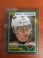 2013/14 Score #5 Mikael Granlund Wild Rookie RC SP SSP Only 1 on EBAY