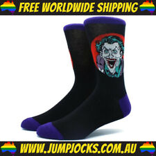 The Joker Dress Socks - Batman, Superhero, DC Comics *FREE WORLDWIDE SHIPPING*