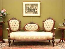 Walnut Antique Sofas & Chaises