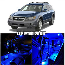 For 00-09 Subaru Outback LED Interior Full Kit White Xenon Bulb (BLUE)