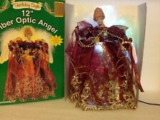 """Holiday Style 12"""" Fiber Optic Angel-New In Box"""