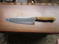 "VINTAGE CHICAGO CUTLERY 8"" CHEFS KNIFE 42S VGC"