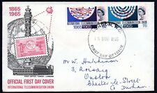 GB 1965 I.T.U. Centenary SG683 - 684 Illustrated First Day Cover FDC