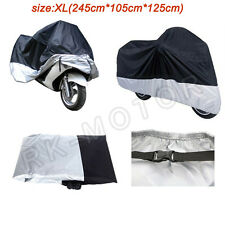 XL Motorcycle Cover Dust Cover Waterproof For Honda CBR600RR CBR1000RR CBR250R