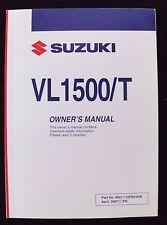 GENUINE 2007 SUZUKI 1500 VL1500 VL1500T MOTORCYCLE OPERATORS MANUAL VERY NICE
