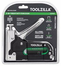 TOOLZILLA® Heavy Duty Staple Gun & 600 Staple Pack Upholstery