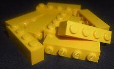 LEGO 1x4 Bricks Yellow---Lot of 10 301024