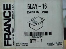 NEW IN BOX! France Ignition Transformer 5LAY-16 CARLIN 200 FREE SHIP! (AP)