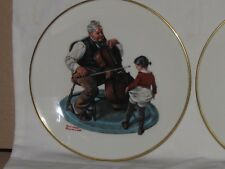 Norman Rockwell 1978 Collector Plates