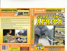 David Ireland-The Wildlife Man-Surviving Africa-Episode 5-Wildlife-DVD
