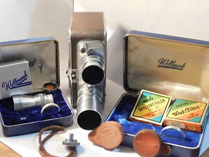 Vintage BELL & HOWELL 8mm MAGAZINE MODEL 172 w/ 3 Lenses