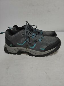 NORTHSIDE SUEDE GRAY TRAIL HIKING LADIES 10 SHOES