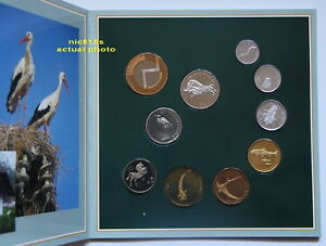 SLOVENIA, official mint set 2003, PROOF, Currency: Tolars, 10 coins, VERY RARE!