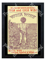 Historic Marza Iron & Cocoa Wine 1880 Advertising Postcard
