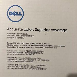 Dell UltraSharp 30 Monitor with PremierColour: UP3017