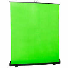 "VIVO Collapsible 100"" Green Screen, Mountable Pull-up Chroma Key Panel Backdrop"
