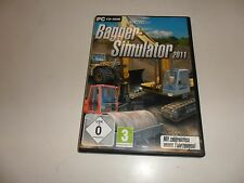 PC simulatore Escavatore 2011
