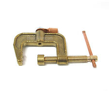 New CRETEC Welding Ground Clamp Brass Earth Clamp 4 Inch 500 AMP
