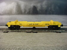 lionel AT&SF Yellow log car  #16715 O Scale 027