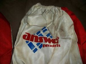 RARE VINTAGE ANSWER RACING MOTOCROSS DIRT BIKE OVER BOOTS COVER OFF ROAD GEAR