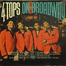 THE FOUR TOPS '4 TOPS ON BROADWAY' US IMPORT LP MONO 1967