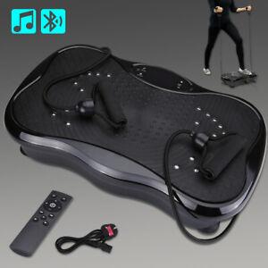 Vibration Platform Power Plate Body Shaper Massage Machine Fitness Exercise Gym