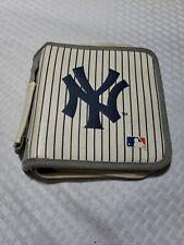 New York Yankees Pinstripe CD DVD Case MLB Baseball HTF GUC 100% PVC